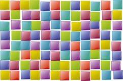 Los cuadrados texture al azar Imágenes de archivo libres de regalías