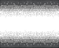 Los cuadrados texture mono II Imagenes de archivo