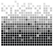 Los cuadrados texture mono III Fotografía de archivo libre de regalías
