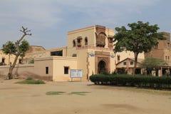 Los cuarteles en el fuerte de Junagarh imagen de archivo