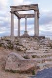 Los cuatro postes (die vier Pole), Avila Stockbilder