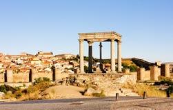 Los cuatro postes, Ávila Imágenes de archivo libres de regalías