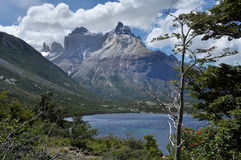 Los Cuernos. Torres del Paine Royalty Free Stock Photography