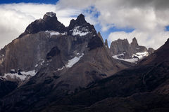Los Cuernos, Las Torres National Park, Chile Stock Images