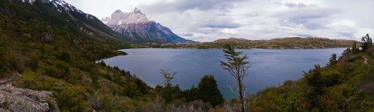 Los cuernos w Torres Del Paine Zdjęcie Stock