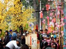 Los días antes del día de fiesta del Año Nuevo de Luna Imagen de archivo libre de regalías