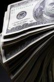 Los dólares se cierran para arriba Foto de archivo libre de regalías
