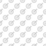 Los dardos modelan inconsútil stock de ilustración