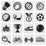 Los deportes fijaron Fotografía de archivo