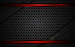Los deportes metálicos rojos del fondo del marco de la textura de acero abstracta diseñan Imágenes de archivo libres de regalías
