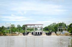Los der Wasserleitung. Stockfoto