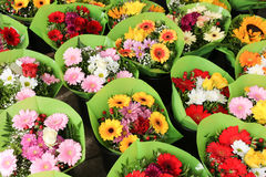 Los des Blumenmarktes Stockfoto