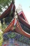 Los detalles arquitectónicos del templo del rey del dragón imágenes de archivo libres de regalías