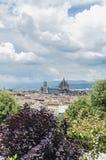 Los di Santa María del Fiore de la basílica en Florencia, Italia Imagen de archivo libre de regalías