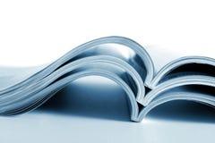 Los diarios desarrollados Imagen de archivo libre de regalías