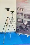Los dispositivos óptico-electrónicos compactos Imágenes de archivo libres de regalías