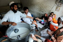 Valle del golpe violento, Paquistán Foto de archivo libre de regalías