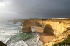 Los doce apóstoles, Australia Foto de archivo libre de regalías