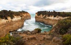 Los doce apóstoles en Australia Imágenes de archivo libres de regalías