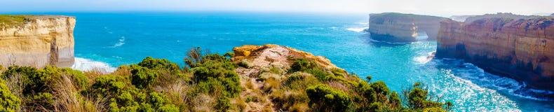 Los doce apóstoles por el gran camino en Victoria, Australia del océano Imágenes de archivo libres de regalías