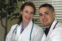 Los doctores Smiling Fotografía de archivo