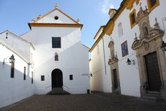 Los Dolores Church in Cordoba Stock Image