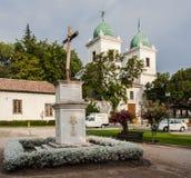 Los Domenicos Church Santiago do Chile Stock Photo