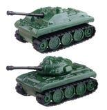 Los dos tanques Fotografía de archivo