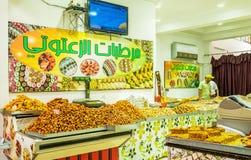 Los dulces de Túnez Imágenes de archivo libres de regalías