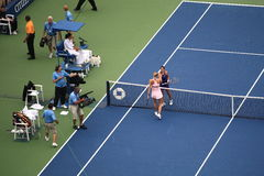 Los E.E.U.U. abra el tenis - Maria Sharapova Fotografía de archivo libre de regalías