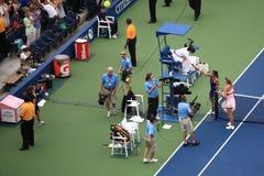 Los E.E.U.U. abra el tenis - Maria Sharapova Imagenes de archivo