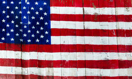 Los E.E.U.U., bandera americana Fotos de archivo