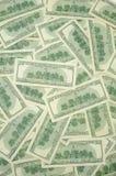 Los E.E.U.U. cientos cuentas de dólar Imagenes de archivo