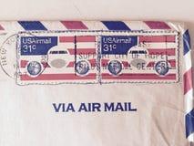 Los 1977 E.E.U.U. Corespondence Imágenes de archivo libres de regalías