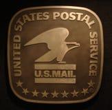 LOS E.E.U.U. Correo Imagen de archivo libre de regalías