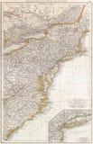 Los E.E.U.U. del noreste, 1890. imagen de archivo libre de regalías