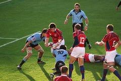 Los E.E.U.U. Eagles contra juego de rugbi nacional de Uruguay Fotos de archivo