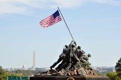 Los E.E.U.U. Marine Corps War Memorial fotos de archivo