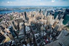 LOS E.E.U.U., NYS Manhattan fotografía de archivo