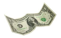 Los E.E.U.U. un dólar Imágenes de archivo libres de regalías