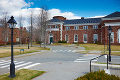 06 04 2011, los E.E.U.U., Universidad de Harvard, Spangler Fotos de archivo libres de regalías