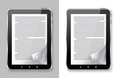 Sistema de EBook. Imagenes de archivo