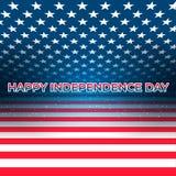 Los E.E.U.U. Día de la Independencia 4 de julio libre illustration