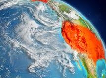 Los E.E.U.U. de la órbita libre illustration