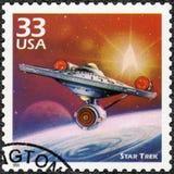 Los E.E.U.U. - 1999: las demostraciones Star Trek, serie celebran el siglo, los años 60 foto de archivo