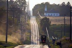 LOS E.E.U.U. - Ohio - Amish imagen de archivo libre de regalías