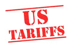Los E.E.U.U. TARIFAN el sello de goma stock de ilustración