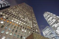 Los edificios altos fotografía de archivo