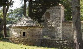 Los edificios de Brijuni Fotos de archivo
