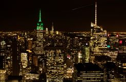 Los edificios de Manhattan, Nueva York Imagenes de archivo
